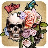 Tattoo Design Theme: Skull wallpaper HD