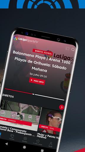 LaLiga Sports TV - Vídeos de Esportes ao Vivo HD screenshot