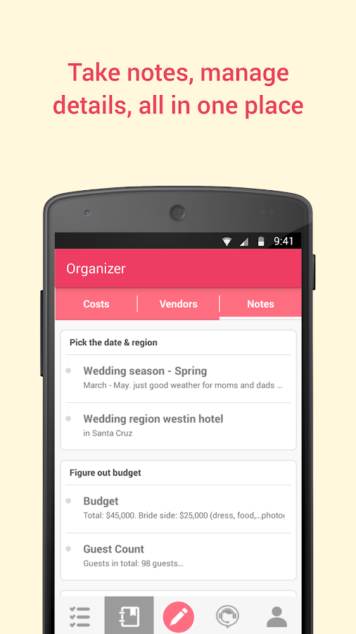 Google Helps You Plan the Perfect Wedding