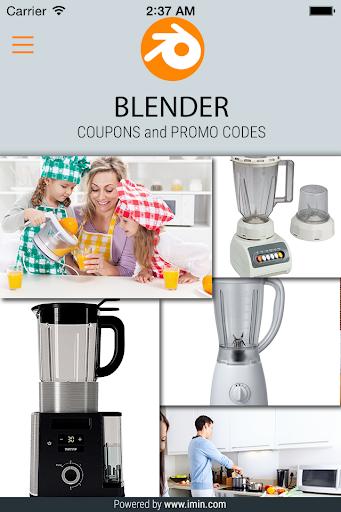 Blender Coupons - I'm in