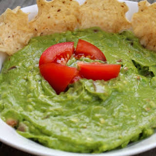 Mexican Veggie Burrito with Guacamole Dip by Gingeritup.