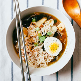 Hot and Sour Soup with Ramen.