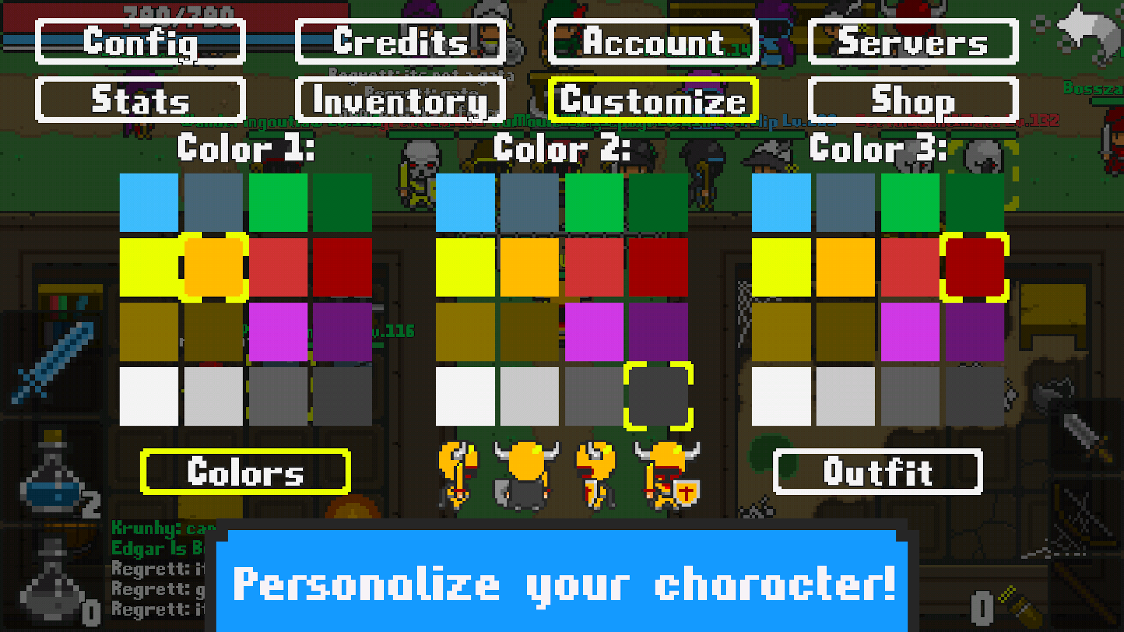Color on online - Rucoy Online Mmorpg Mmo Screenshot