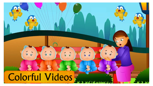 Kids Top Nursery Rhymes Videos - Offline Learning FiveLittle_v4.7 14