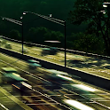 Moving Traffic Animated LWP icon