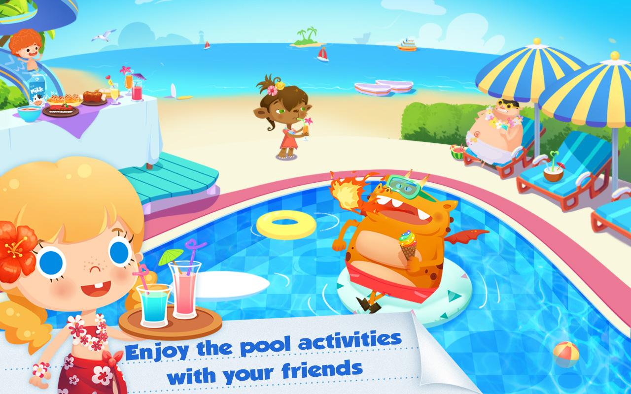 Candy's Vacation - Beach Hotel- screenshot