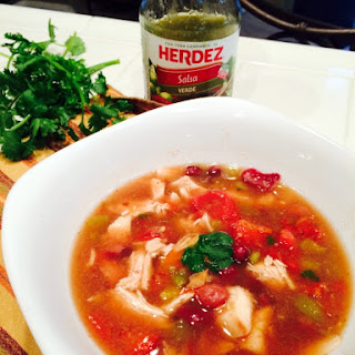 Really Simple Green Chili and Chicken Soup.