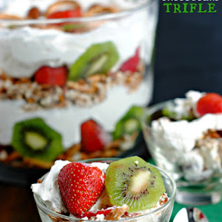 Holiday Cheesecake Trifle
