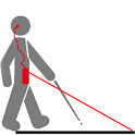 aide aveugle help blind people icon