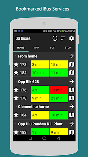 SG Buses: Timing & Routes - náhled