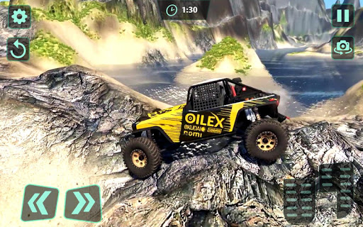 Off-Road 4x4 jeep driving Simulator : Jeep Racing android2mod screenshots 5