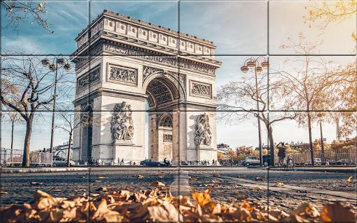 Tile Puzzle France  screenshots 2