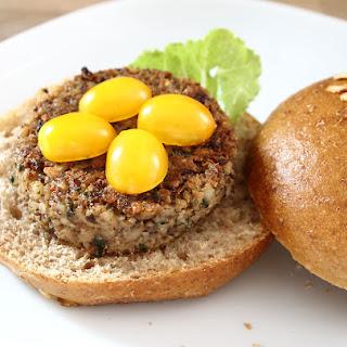 Mushroom And Barley Veggie Burger