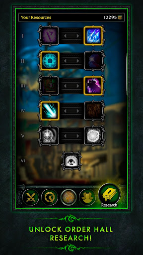 WoW Legion Companion Screenshot