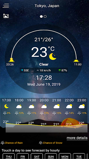 Accurate Weather Forecast: Check Temperature 2020 1.22.12 screenshots 1