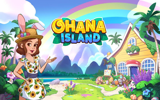 Ohana Island: Blast flowers and build  screenshots 6