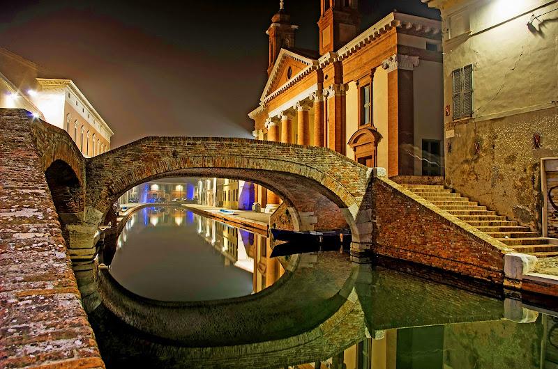 Riflessi in canale... di Giuseppe Loviglio