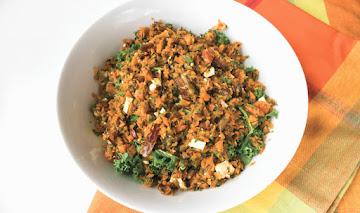 Gluten-free Roasted Carrot Tabbouleh Salad Recipe