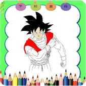 Tải Game How to color dragon ball z