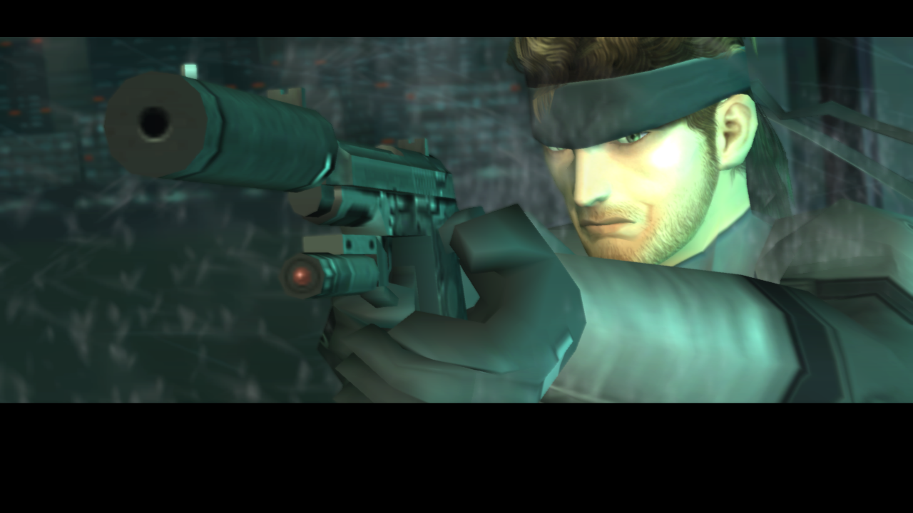 METAL GEAR SOLID 2 HD for SHIELD TV- screenshot