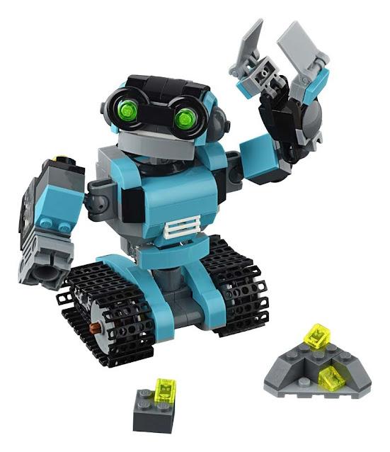Contenido de Lego® 31062 Robot Explorador