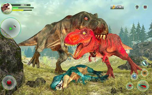 Dinosaur Games Simulator Dino Attack 3D  captures d'écran 1