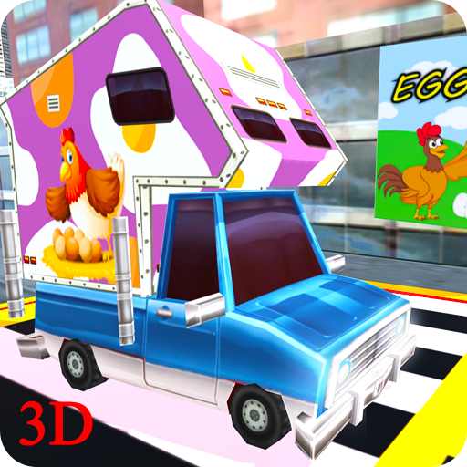 Chicken Eggs Delivery Van (game)