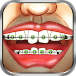 Braces Surgery Dentist Game Icon