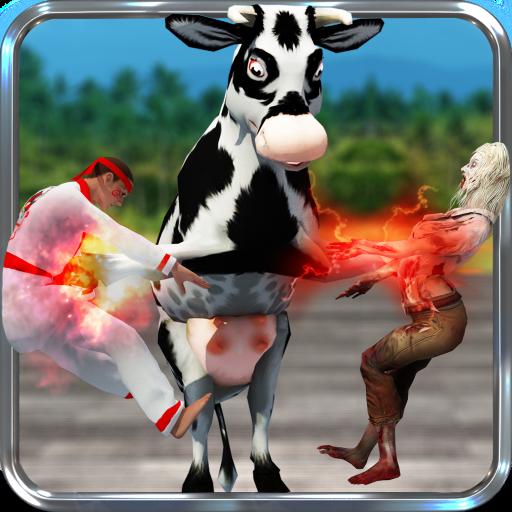 Kung Fu Bull Fighting Attack