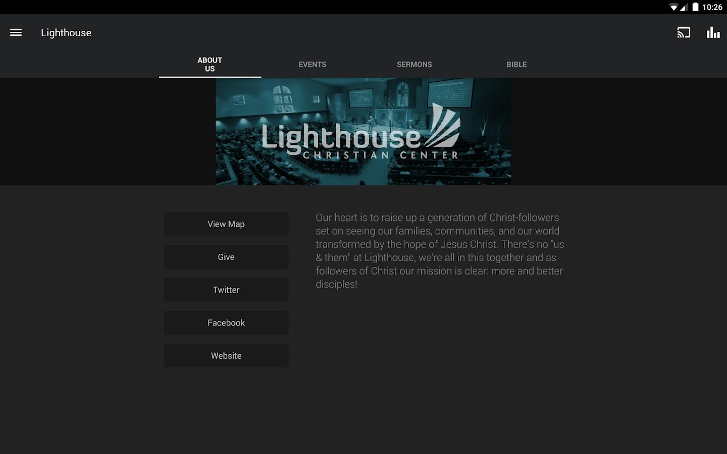 Lighthouse Christian Center- screenshot