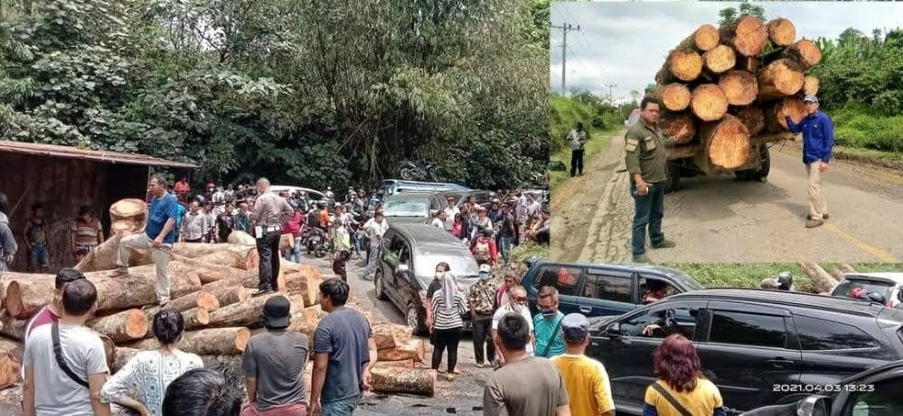 Ketua DPD Walantara Berharap Kapolda SU Tindak Tegas Truk Berat Muatan Kayu Penyebab Kemacetan Jalur Lintas Medan – Tanah Karo
