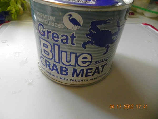 This is the crab meat