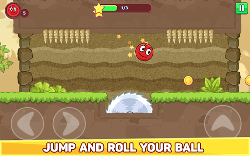 Bounce Ball 5 - Red Jump Ball Hero Adventure filehippodl screenshot 10
