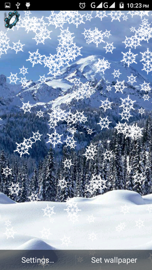 snow winter live wallpaper android apps on google play