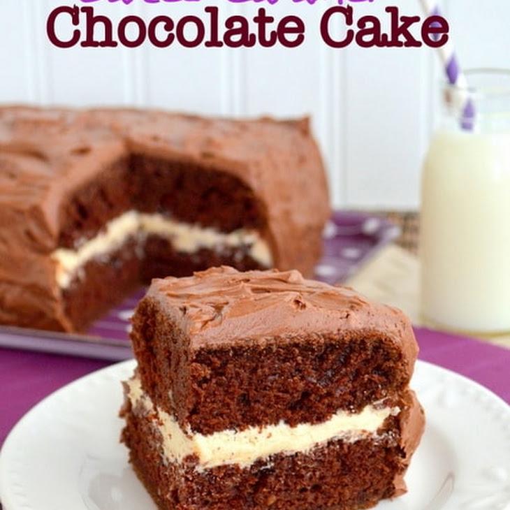 Salted Caramel Chocolate Cake Recipe