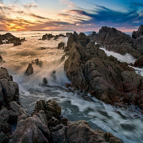 Cape Surge by David Morris - Landscapes Waterscapes ( landscapes sunsets sunrises )