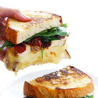 Chicken Florentine Grilled Cheese