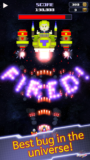 Galaxy bug screenshot 2