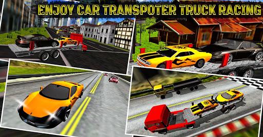 カートランスポータートラックレーシング