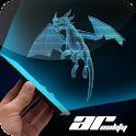 AR Hologram Flying Dragon icon
