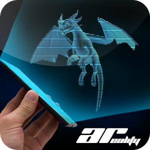 AR Hologram Flying Dragon for PC and MAC