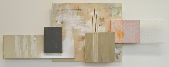 Photo: RODS. REEDS. SPRING mixed media incl. fluorescent plastic diffuser (sold)
