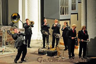 Photo: German Brass 2009 Prof. Uwe Köller aus Graz Klaus Wallendorf  Karten gibt es hier unter www.rostock-musik.de sowie im Pressezentrum: 0381- 491 79 79