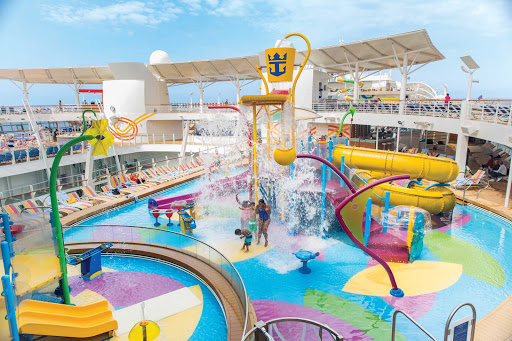 Kids will have a blast at Splashaway Bay on Harmony of the Seas.