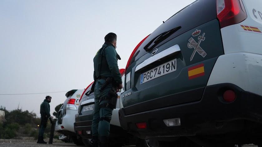 Guardia Civil en una operación en Almería