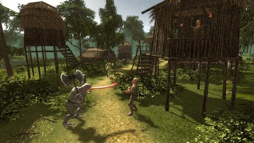 Lizard Warrior Simulator 3D