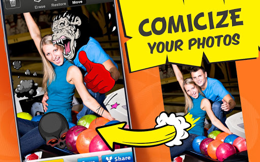 Photo Comics – Super Stickers ss1