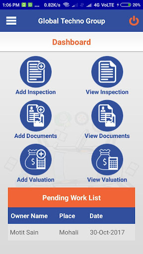 Global Techno Valuations And Inspections System 15 screenshots 2