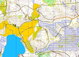 Photo: Part of a 4 km x 4 km map from Kuusankoski. Created with Karttapullautin (http://routegadget.net/karttapullautin/) from the open data of the National Land Survey of Finland (http://www.maanmittauslaitos.fi/)