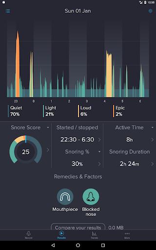 SnoreLab : Record Your Snoring  screenshots 6